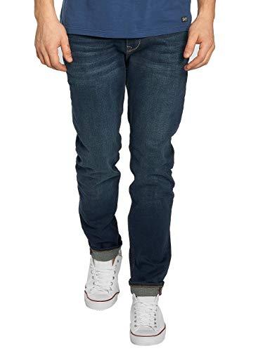 Petrol Industries Herren THRUXTON Tapered Fit Jeans, Blau (Dark Blue 5800), W34/L32 (Herstellergröße: 34/32)