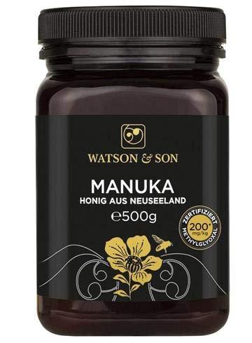 Watson & Son Manuka Honig MGO 200+ 500g | Premium Qualität aus Neuseeland