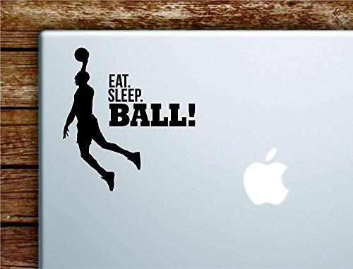 Essen Sie Schlaf Ball Slam Dunk Basketball Notebook Macbook Auto Zitat Wand Aufkleber Aufkleber Kunst Vinyl inspirierende Teen Gymnastikball