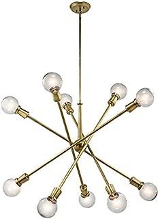 Kichler 43119NBR Ten Light Chandelier
