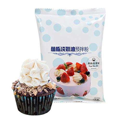 Healthy Food,Whipped Cream Icing Mix Stabilizer Light Cream Powder Baking Manual DIY Decorating Cake Easy Whipping Cream Baking Ingredients