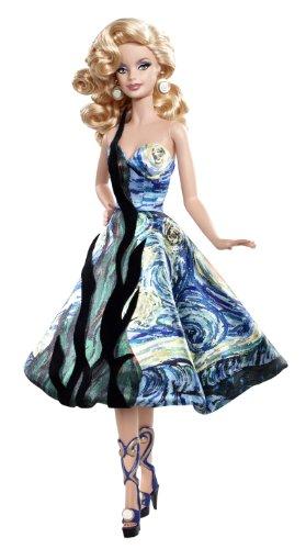 Mattel V0445 - Barbie Collector Dolls of the World, Artist Van Gogh, Sammlerpuppe