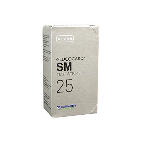 GLUCOCARD SM TEST STRIPS 25PZ