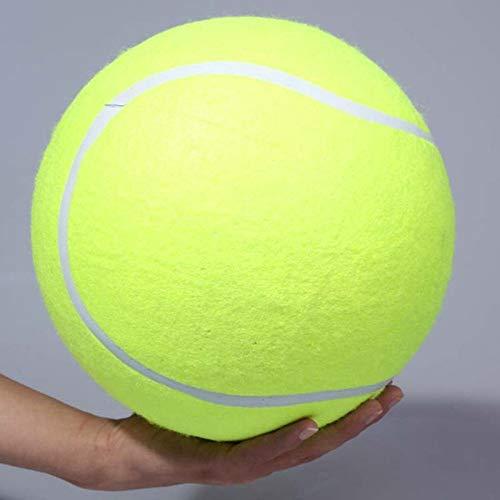 GZXHWWJ Hundespielzeug 24 cm Hund Tennisball Riesen Haustier Spielzeug Tennisball Hund Kauen Spielzeug Unterschrift Mega Jumbo Kinder Für Welpen