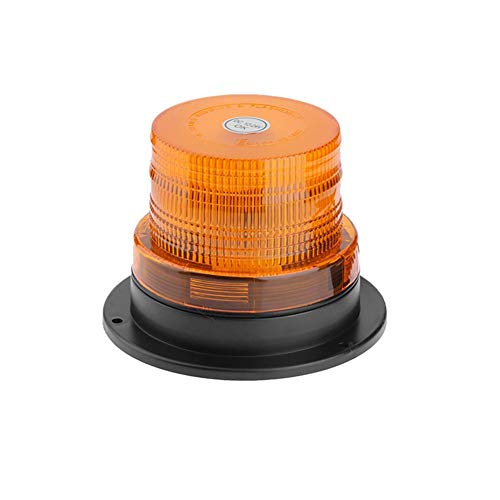 Everpert - Luz LED de emergencia estroboscópica, magnética, 12 V, 24 V, luz LED de advertencia de emergencia para vehículo, intermitente, luz de faro