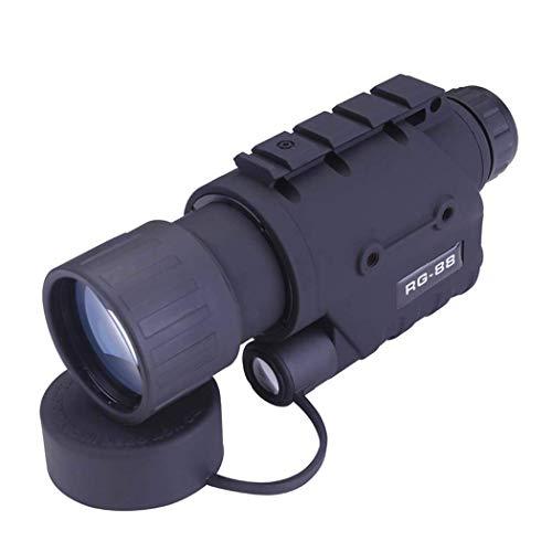 J-Love Monocular HD, Rg88 Visión Nocturna Monocular HD Alta Potencia Caza al Aire Libre para observación Aves Camping Vida Silvestre Viajar