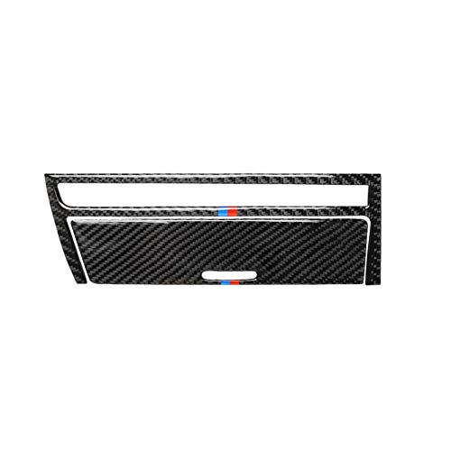 HXD Custodia in fibra di carbonio per BMW Serie 3 4th E46 M3 320i 325i 323i 328i 330i 335i 340i M3 1998-2006 (Ashtray Cover, M)