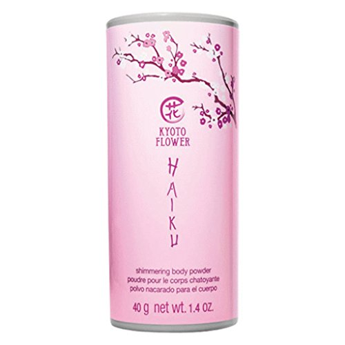 Avon Haiku Kyoto Flower shimmering body powder talc 1.4 Oz - sealed