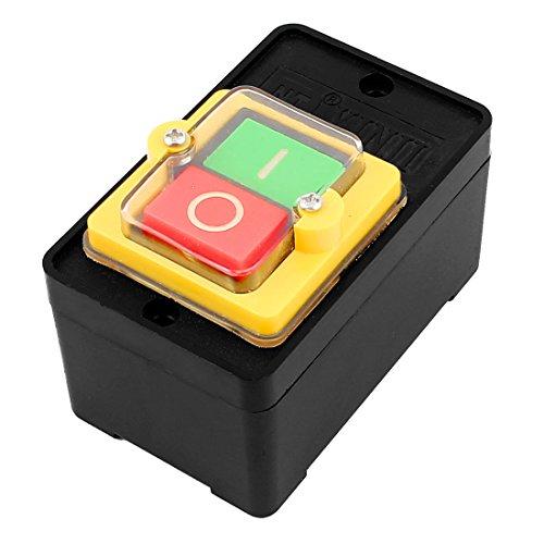 sourcingmap® Ersatz EIN/AUS Selbstverriegelung Leistung Drucktaster Schalter AC 220V 380V 10A de