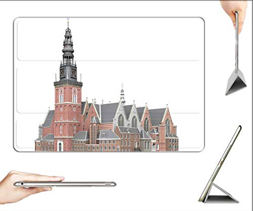 Case for iPad 10.2-inch 2019 (7th Generation) - Oude Kerk Amsterdam Architecture Building Church 2