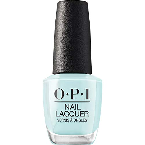 OPI Nail Lacquer, Gelato on My Mind, Blue Nail Polish, Venice Collection, 0.5 fl oz
