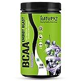 Naturyz Instantized BCAA Energy Blast with 7000 BCAA, Glutamine, Citrulline & Beta Alanine (Blueberry Mojito Flavor) - 450Gms fat burner pills for men Oct, 2020