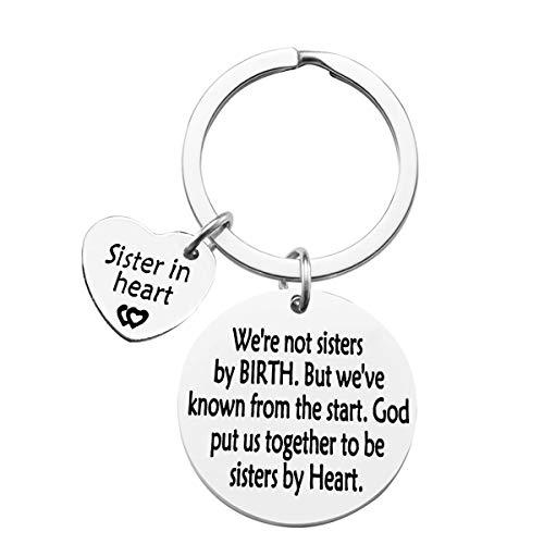 Sister Keychain Best Friend Keychain We