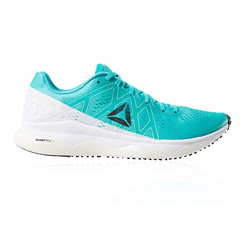 Reebok Floatride Run Fast, Zapatillas de Trail Running para Mujer, Multicolor (Solid Teal/White/Neon Lime/Black 000), 40 EU