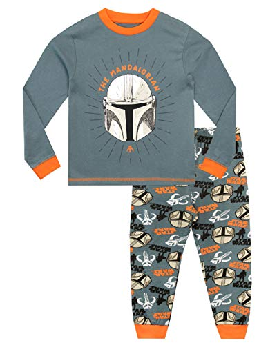 Star Wars Jungen Schlafanzug The Mandalorian Mehrfarbig 128