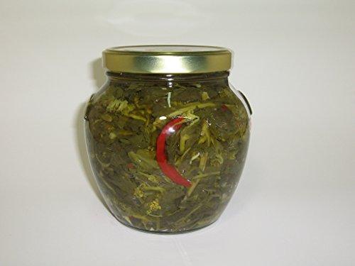 Friarielli sott'olio (infiorescenza di cima di rapa) vasetto da 1700 ml SENZA CONSERVANTI