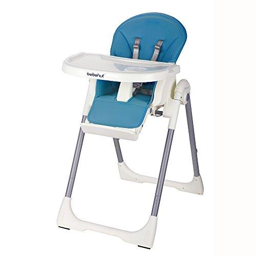 Kinderhochstuhl Babyhochstuhl Kinderstuhl Babystuhl Hochstuhl verstellbar 1801-D02 Sky Blue