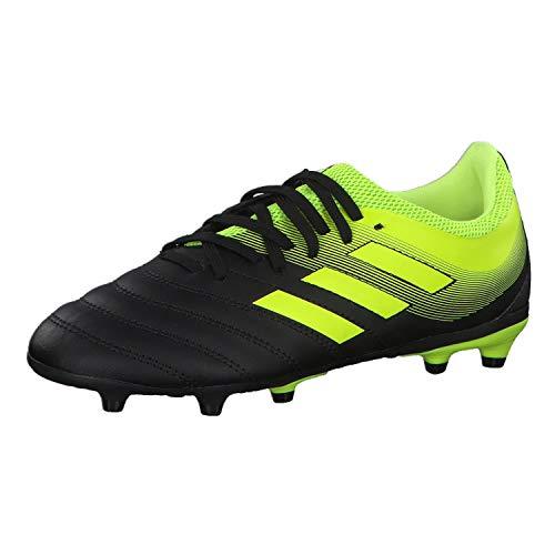adidas Unisex-Kinder Copa 19.3 Fg J Fußballschuhe, Mehrfarbig (Negbás/Amasol/Amasol 000), 30.5 EU