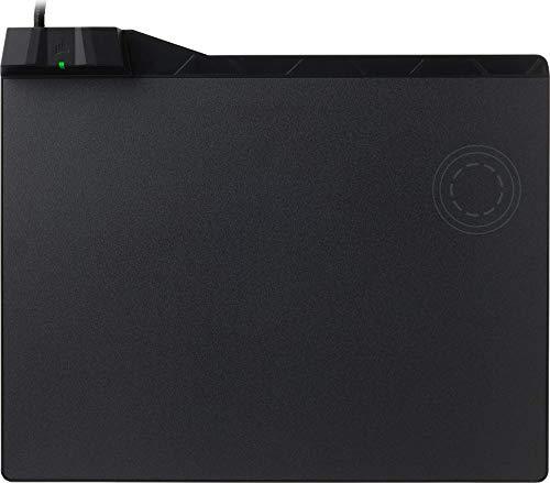 Corsair MM1000 Qi Wireless Charging - Alfombrilla de carga inalámbrica, medio, negro