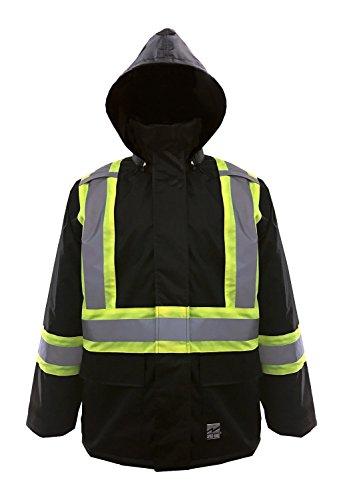 Black Rain Jacket Mens
