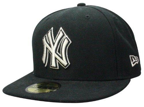 New Era Casquette New York Yankees Cap Metfold in black/silver | Taille: 7 3/8