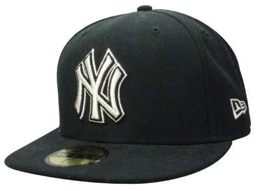New Era Casquette New York Yankees Cap Metfold in black/silver | Taille: 7 3/8