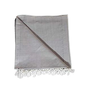Riyashree Organic Cotton Silky Soft Bhagalpuri Dull chadar Quilts for All Season Queen Size ( 53 * 96 in ) JACoDull 07
