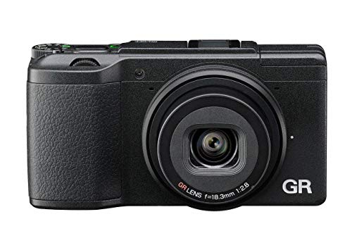 "Ricoh 175844 GR II - Cámara compacta de 16 Mp, color negro, pantalla de 3"", WiFi, USB 2.0, 28 mm, F2.8"