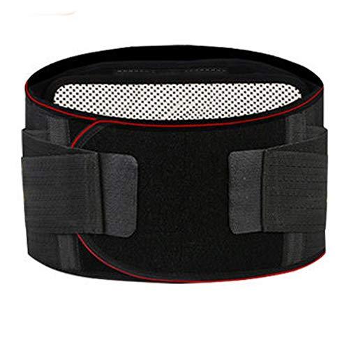 LSRRYD Lower Back Support Belt Lumbar Support Brace Adjustable Neoprene Double Pull Lumbar Support Lower Back Belt for Back Relief Sciatica Spinal Color Black Size X Large