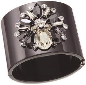 Swarovski Crystal Triumphal Bangle Black