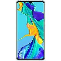 "Huawei P30 - Smartphone de 6.1"" (Kirin 980 Octa-Core de 2.6GHz, RAM de 6 GB, Memoria interna de 128 GB, cámara de 40 MP, Android) Color Aurora [Versión importada]"