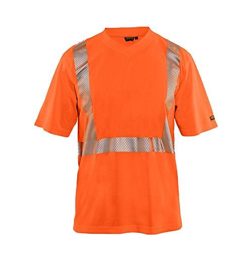 Blakläder 338610135300S Warnschutz-T-Shirt Größe S in Orange