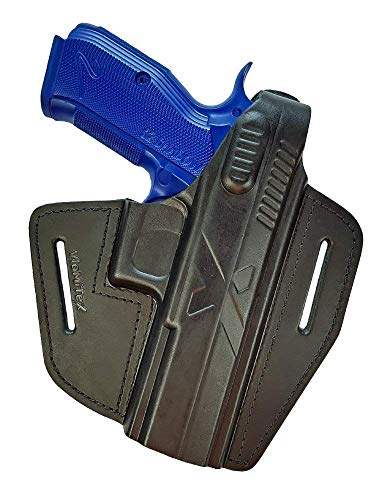 VlaMiTex B15 Leder Holster für CZ Shadow 2 / P-09 / SP-01 Phantom/CZ 97B / Shadow