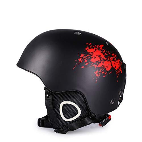 Helm ZWRY Helm Integraal gevormde skihelm voor volwassen buitensporten Sneeuwhelm