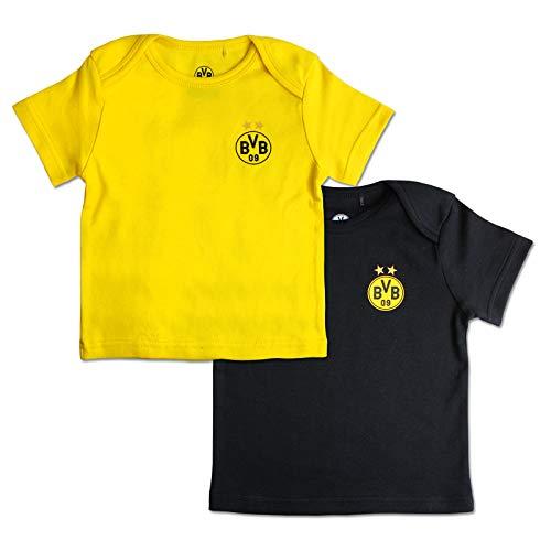 Borussia Dortmund BVB-Babyshirt (2er-Set) 62/68