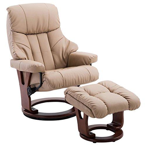 STILISTA Massagesessel Fernsehsessel Relax TV Sessel Leder Relaxsessel Massage