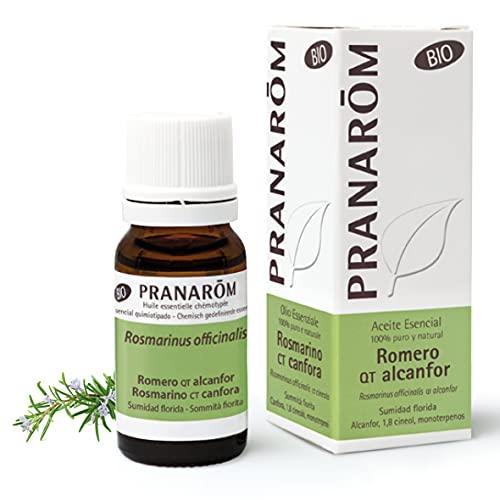 Pranarom - Aceite Esencial de Romero Alcanfor Bio - Sumidad Florida - 10 ml