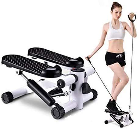 ZLXLX Equipo de deportes de interior Stepper, Fitness Pedal Fitness Home Equipado con una silenciosa cinta de correr Inicio Mini Perder peso Pedal multifuncional Equipo de fitness Steppers