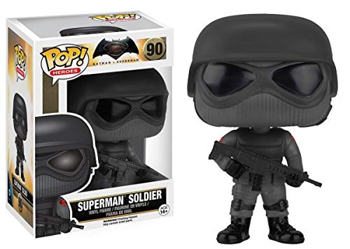 Funko Pop Heroes Batman vs Superman: Superman Soldier Vinyl Action Figure Toy 90
