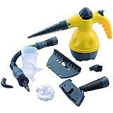 PDXGZ Limpiadora de Vapor Manual con depósito de 450 mililitros, Calentamiento en 3 min, Elimine Manchas, alfombras, Cortinas, Asientos de automóviles, cocinas, baños, 220V