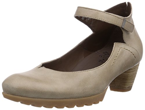 Think Damen NOLA Pumps, Beige (KORK 24), 37 EU