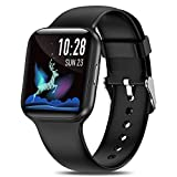 Yocuby 1.54' Smart Watch for Men Women, IP68 Waterproof Smartwatch for Android iOS Phones, Activity Tracker with Heart Rate Sleep Monitor