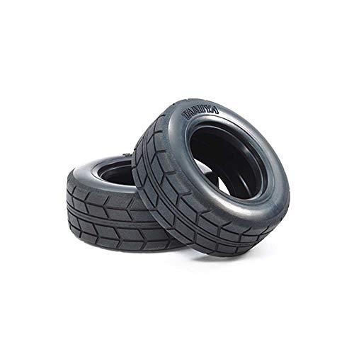 TAMIYA America, Inc 1/10 On Road Racing Truck Front/Rear Tires (2), TAM51589