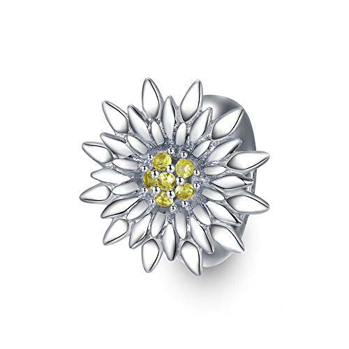 Mijn bedels Sterling Silver Stopper Sunflower