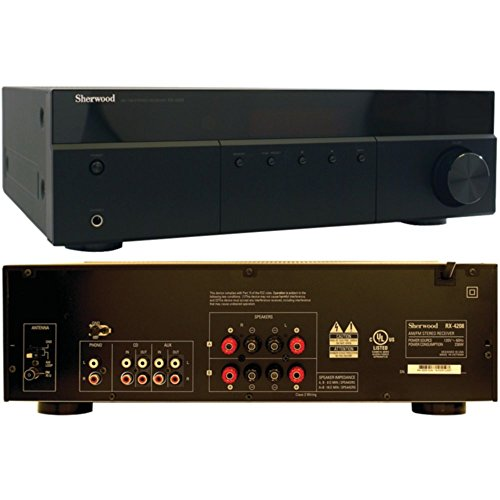SHERWOOD RX-4208 200-Watt AM/FM Stereo Receiver Consumer Electronics