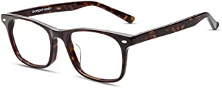 Firmoo - Vintage Fashion Acetate Square Reading Glasses Frame with Resin Clear Lens
