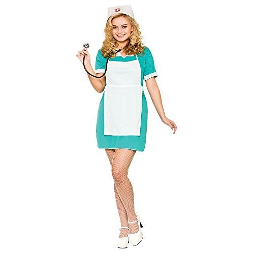 Ladies E.R Nurse Fancy Dress Costume