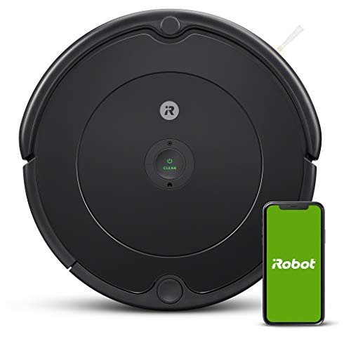 iRobot - Robot aspirador Roomba 692 Wifi, para alfombras y suelos, Dirt Detect, Sistema de limpieza en 3 fases, Smart Home y...