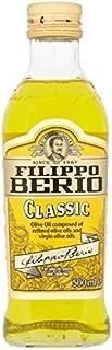 Filippo Berio Pure Olive Oil - 500ml (16.91fl oz)