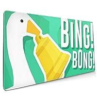 アンタイトルド グース ゲーム Bing Bong アニメ 漫画 ゲーム マウスパッド キーボードパッド 滑り止め 90x40 Cm 超大型 ゲームマウスパッド デスクマウスパッド レーザー&光学式マウス対応